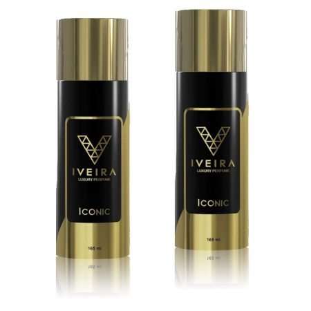 IVEIRA Iconic Luxury Body Spray For Men & Women-165ml (pack of 2)
