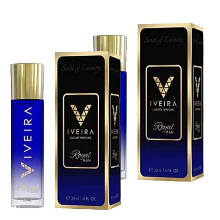Iveira Italiano Royal Man Perfume 30ml (Pack of 2)