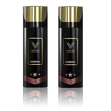 IVEIRA Marshal Deodorant Body Spray 165ml (Pack of 2)