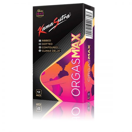 Kama Sutra Orgasmax 12s – 4 in 1 Condoms