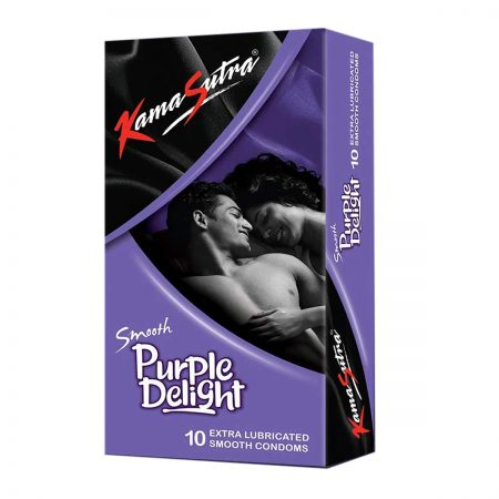 Kamasutra Aloe and Vitamin E Lubricant & Purple Delight Condom's