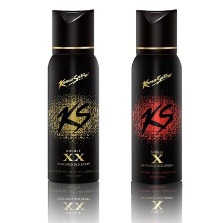Kamasutra X & XX Energetic Body Spray Combo Pack (Pack of 2)