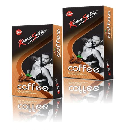Kamasutra Coffee Condoms – 10's (Pack of 2)