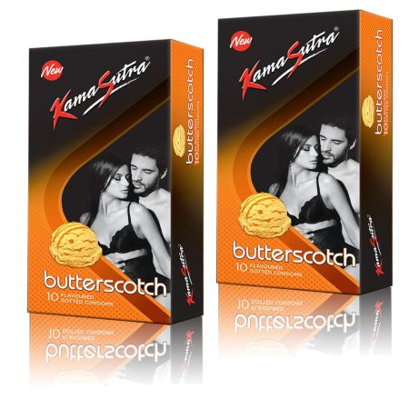 Kamasutra Butterscatch Condoms 10's (Pack of 2)