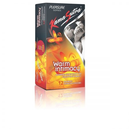 KamaSutra Dotted Condom, Warm Intimacy, 12s