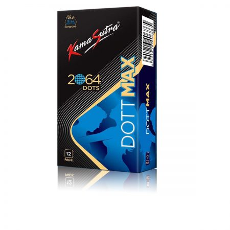 Kamasutra Dottmax 2064 Raised Dots Condoms – 12s