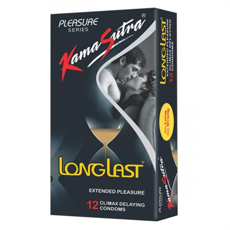 Kamasutra Long Last Condoms & Long Last Spray For Men (12g)