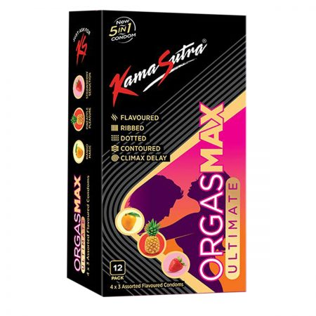 KamaSutra Orgasmax Ultimate Condoms -12pc