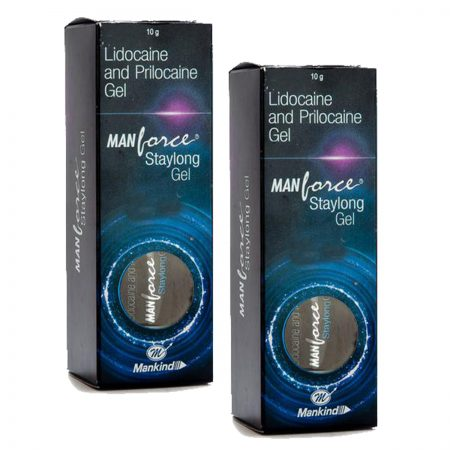 Manforce Staylong Gel Lubricant 8gm Pack of 2