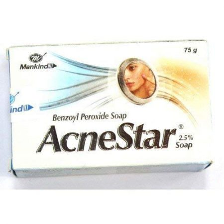 Mankind Acnestar Soap, 75gm (pack of 6)