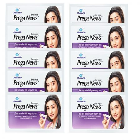 Mankind Prega News Pregnancy Test Kit  (Pack of 10)