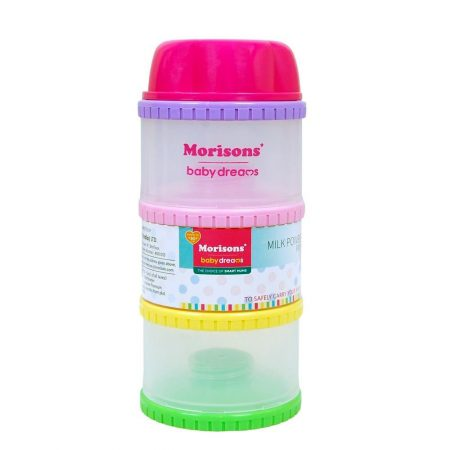 Morisons Baby Dreams Milk powder container – Plastic (Multicolor)