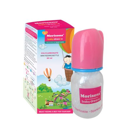 Morisons Baby Dreams Regular Mini Feeder 60ml (Pack of 2)