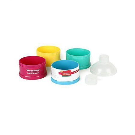 Morisons Baby Dreams Milk powder container (Multicolour)