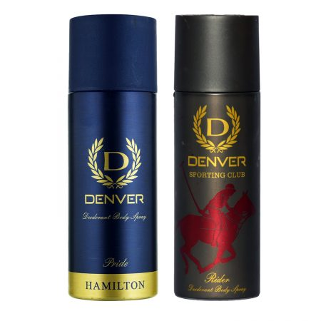 Denver PRIDE & RIDER Body Spray (Pack of 2)