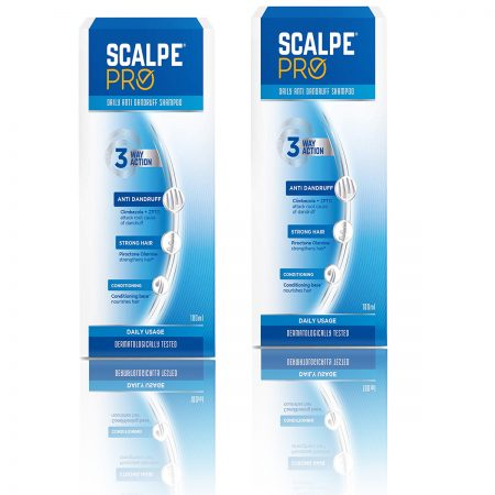 Scalpe Pro Anti-dandruff Shampoo 200ml Pack of 2