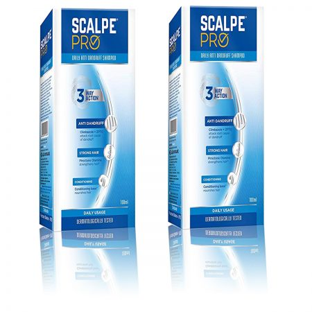 Scalpe Pro Anti-dandruff Shampoo 100ml Pack of 2