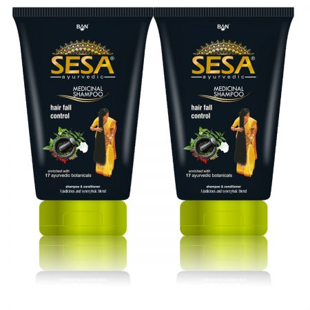 Sesa Ayurvedic Medicinal Shampoo 100ml (Pack of 2)