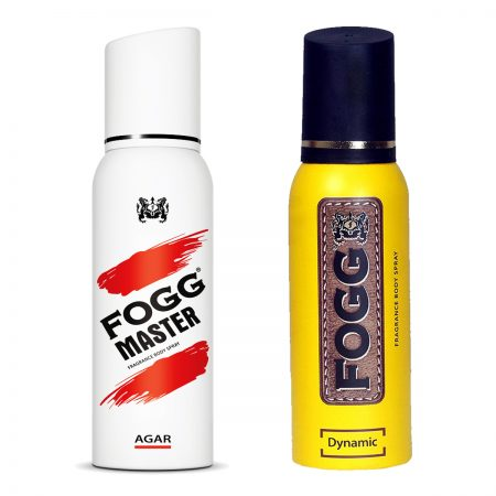 Fogg Dynamic & Agar Fragrance Body Spray 120ml (Pack of 2)