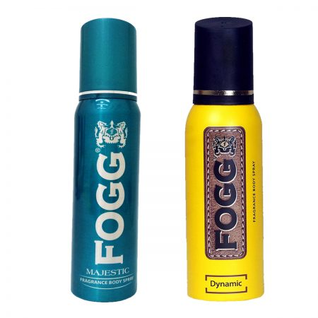 Fogg Dynamic & Majestic Fragrance Body Spray 120ml (Pack of 2)