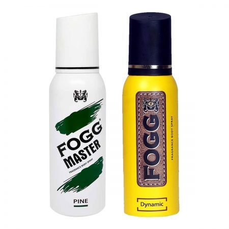 Fogg Dynamic & Pine Fragrance Body Spray 120ml (Pack of 2)