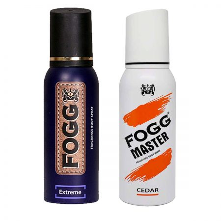 Fogg Extreme & Cedar Fragrance Body Spray 120ml (Pack of 2)