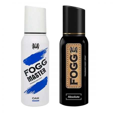 Fogg Absolute & Oak Fragrance Body Spray 120ml (Pack of 2)