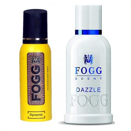 Fogg Dazzle & Dynamic Parfum for Men (Pack of 2)