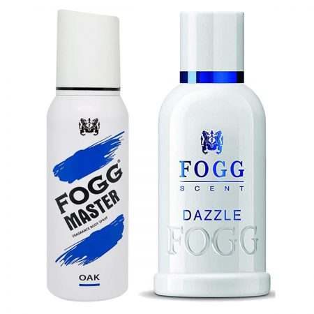 Fogg Dazzle & Oak Parfum for Men (Pack of 2)