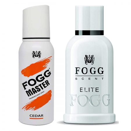 Fogg Elite & Cedar Parfum for Men (Pack of 2)