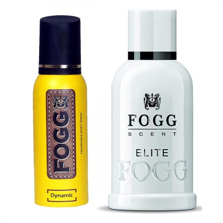 Fogg Elite & Dynamic Parfum for Men (Pack of 2)