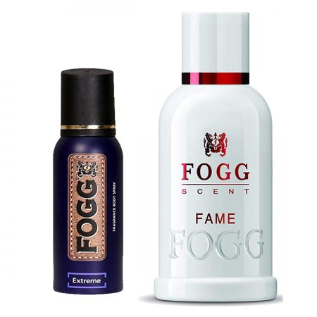 Fogg Fame & Extreme Parfum for Men (Pack of 2)