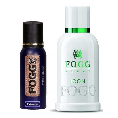 Fogg Extreme & Icon Parfum for Men (Pack of 2)