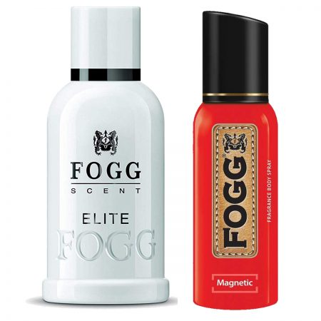 Fogg Magnatic & Elite Parfum for Men (Pack of 2)