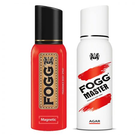 Fogg Magnetic & Agar Fragrance Body Spray 120ml (Pack of 2)
