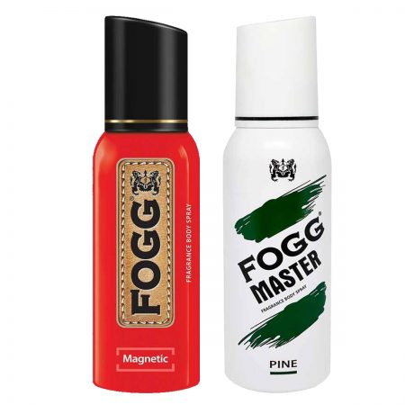 Fogg Magnetic & Pine Fragrance Body Spray 120ml (Pack of 2)