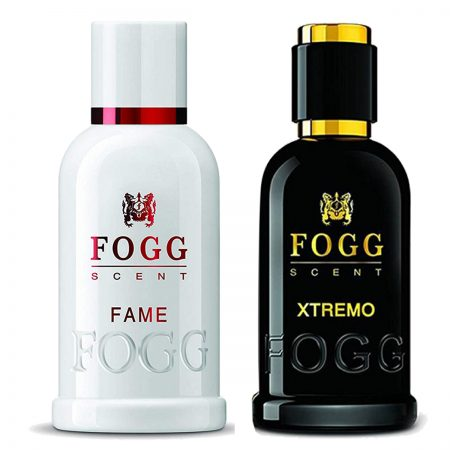 Fogg Xtremo & Fame for Men 100ml (Pack of 2)
