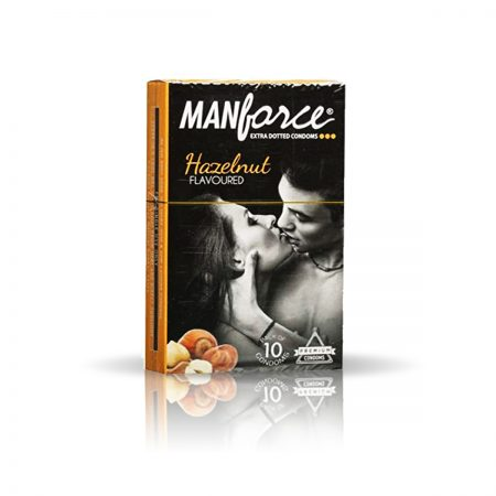 Manforce Litchi 1500 Dots & Hazelnut Condom (Pack of 2)