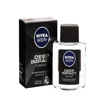 Nivea Men Deep Impact After Shave Lotion & Shaving Foam for Men (Pack of 2)