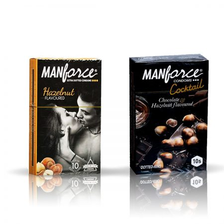 ManForce Hazelnut & Cocktail
