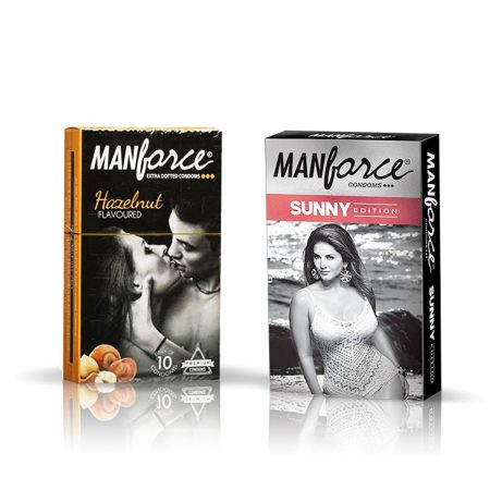 Manforce Sunny & Hazelnut Condom (Pack of 2)