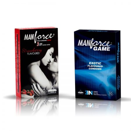 ManForce Strawberry & Exotic