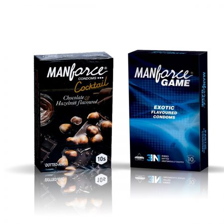 Manforce Cocktail & Exotic Condom (Pack of 2)