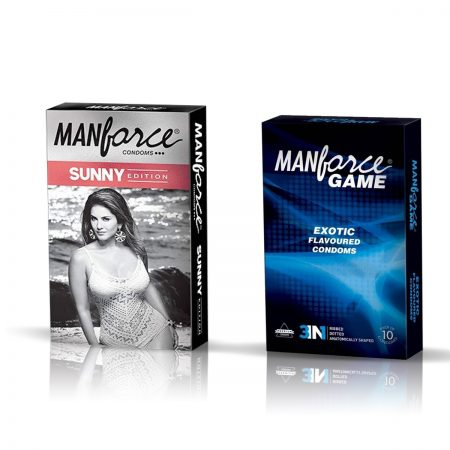 Manforce Sunny & Exotic Condom (Pack of 2)