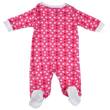 Morisons baby dreams Baby's Cotton Polka Romper