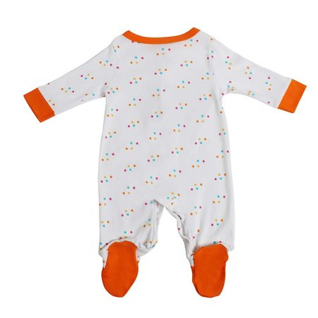 Morisons baby dreams Baby's Cotton Ice-cream Romper
