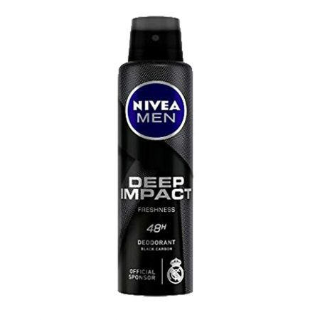 Nivea Men Body Deodorizer & Deep Impact deodorant for Men (Pack of 2)