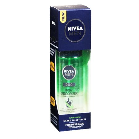 Nivea Men Duo Body Deodorizer for Men (Pack of 2)