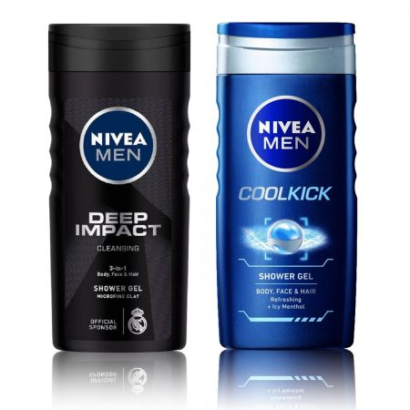 Nivea men Deep Impact & CoolKick