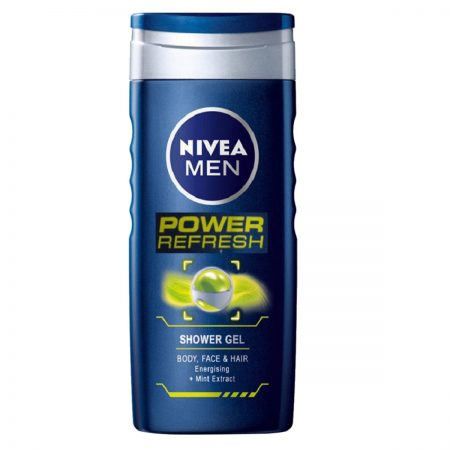 Nivea Men Power Refresh & Original Care Shower Gel 250ml (Pack of 2)